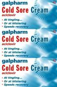 Galpharm Cold Sore Cream 2g x 3 Packs