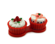 Cute Travel Contact Lens Case Kit Holder