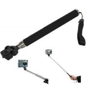 Active PRO - Extendable Telescopic Handheld Pole Arm Monopod for Compact Digital Cameras - Works with Sony, Canon, Nikon, Panasonic, Flip, Kodak, Fujifilm, Toshiba, Veho and Go Pro Action Camera - With Wrist Strap - Range