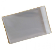 """Pack of 500 - 9"""" x 7"""" Mounted Photograph Cellophane Display Bags Self Seal - Cello Size 185mm x 228mm + 30mm Flap - 40 Micron"""