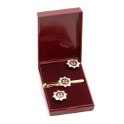 coldstream guard cufflink and tiebar giftset, regimental, military giftware and accessories