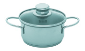 Fissler Häppchen Cooking Pot 14 cm 1 L with Glass Lid