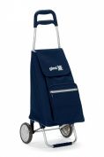 Gimi Argo Shopping Trolley, Navy Blue