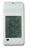 Max min greenhouse thermometer - white