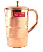 Handmade copper pitcher/ Jug for Drinking water
