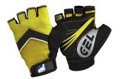 Elite Cycling Project Men's Road Racer Gel Fingerless Gloves
