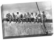 High Definition Lunch Atop A New York Skyscraper Cross Beam Girder Canvas Art Print 50cm x 80cm A1