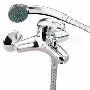 Bristan J WMBSM C Java Wall Mounted Bath Shower Mixer
