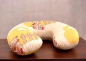 COVER FOR FEEDING PILLOW 100% COTTON NURSING MATERN ITY Baby Breast Pregnancy ONLY COVER