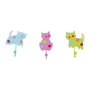 "Legler ""Cat"" Coat Hooks Children's Furniture"
