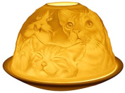 Cats Tealight Candle Holder from Light-glow by Welino