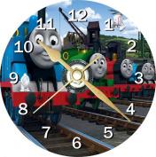 Thomas The Tank Engine Novelty Cd Clock + Free Desktop Stand