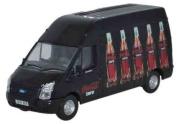 Oxford Diecast 1:76 Scale Ford Transit Coke Zero 76FT015CC