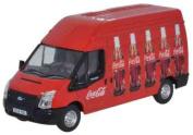 Oxford Diecast 1:76 Scale Ford Transit Coca Cola Coke 76FT013CC