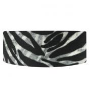Wrapables Colourful Patterns Japanese Washi Masking Tape, Black Animal Stripes
