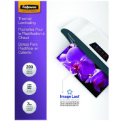 Fellowes 3-Mil Letter ImageLast Glossy Laminating Pouches, 200 Pack