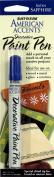 Rust-Oleum 215155 American Accents Satin Decorative Paint Pens, Sapphire, 30ml