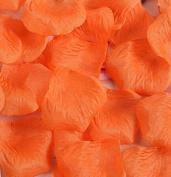 Viskey 300 pcs Petals Confetti for Wedding Decoration, Orange