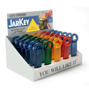 The Original JarKey by Brix - Worlds Easiest Jar Opener - Set of 5 Assorted Colours