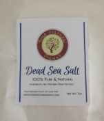 Natural Planet Dead Sea Salt, 2.3kg Fine Grain - 100% Pure Bath Salt - For Psoriasis, Eczema, Arthritis, Dermatitis, Acne, Dry Skin, Dandruff, and Other Skin Disorders. Highest Mineral Content for Cleansing and Detoxifying. Relaxes Skin and Muscles