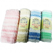 Nylon Exfoliating Beauty Skin Bath Wash Cloth/Towel -4pcs set