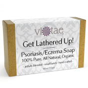 PSORIASIS-ECZEMA SOAP - 100% Pure, All Natural, Certified Organic Aromatherapy Herbal Bar Soap