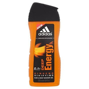 Adidas for Men Shower Gel - Deep Energy (250ml) by Grocery