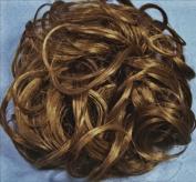 KATIE 18cm Pony Fastener Hair Scrunchie - 14 Golden Ash Brown