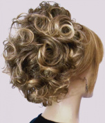 PHOEBE Clip On Hairpiece by Mona Lisa 8T124 Brown-Blonde