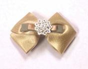 Beauty Hair Barrette Bowknot Bow Tie Rose Flower Rhinestone Metal Wedding Hair Clip Pin Accessories AOSTEK