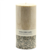 Northern Lights Candles - Natural Palm Wax 3x6 Pillar - Sandalwood Spice
