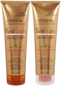 L'Oreal Paris EverSleek Sulphate-Free Smoothing System Intense Smoothing, DUO set Shampoo + Conditioner, 250ml, 1 each