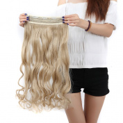 """Fashion 17""""(43cm)/23""""(58cm) 3/4 Full Head One Piece 5clips Clip in Hair Extensions Long Straight/curly All Colours"""