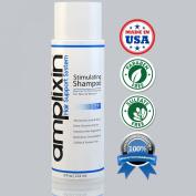 Amplixin Stimulating Hair Loss Shampoo with Caffeine & Red Clover - Hair Growth Shampoo for Women & Men - Shampoo for Thinning Hair - Moisturising Shampoo for Colour Treated Hair - Volumizing Shampoo for Fine Hair - Thickening Shampoo for Oily Hair - S ..