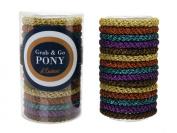 L. Erickson Grab & Go Pony Tube - Fall Metallic