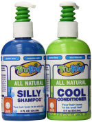 Trukid Silly Shampoo and Cool Conditioner Combo Pack, Light Citrus, 240ml each, 2 Count