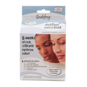 Godefroy Instant Eyebrow Tint Permanent Eyebrow Colour Kit, Dark Brown-1 kit