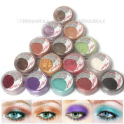 Amazing Gift! USPS Shipping! 15 Cold Smoked Metals Colour Glitter Shimmer Pearl Loose Eyeshadow Pigments Mineral Eye Shadow Dust Powder Makeup Party Cosmetic Set #B