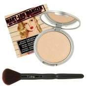 The Balm Mary-lou Manizer Aka The Luminizer Shimmer, Highlighter and Eyeshadow, with Twinbeauty Brush