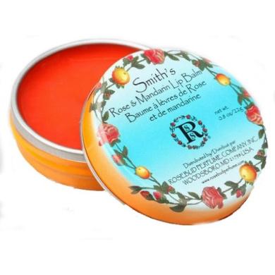 Rosebud Smith's Lip Balm, Rose and Mandarin, 25ml