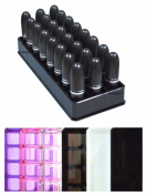 Acrylic Lipstick Organiser & Beauty Container 24 Space Storage byAlegoryTM