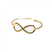 Lookatool Toe Ring Adjustable Foot Jewellery Gifts for Women Gold