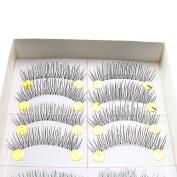 AGPtek® 10 Pairs Makeup Handmade Natural Fashion Long False Eyelashes Eye Lashes