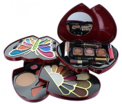 ETA Pink Double Heart Glamour Girl Makeup Colour Kit BR