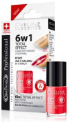Eveline Cosmetics 6 in 1 Total Effect Nail Treatment with Conditioner #790