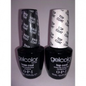 OPI Gelcolor Soak off Gel Base & Top Coat 0.5 oz / 15 ml each by OPI BEAUTY