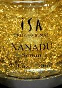 XANADU 24K Gold Vitamin C Serum Hyaluronic Acid Vitamin E Rose Serum Night Day Moisturiser and Foundation Primer by ISA Professional