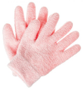 Deseau Moisturising Gloves - Luxurious Soft Cotton with Thermoplastic Gel Lining Infused with Botanical Oils - One Pair
