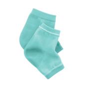 EMILYSTORES Green Moisturise Soften Repair Cracked Skin Moisturising Treatment Heel Gel Jojoba Oil Vitamin E SPA Socks 1Pair