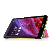 Fintie ASUS MeMO Pad 7 ME176CX Slim Shell Case - Ultra Slim Lightweight Stand Cover (Only Fit ASUS MeMO Pad 7 ME176CX / ME176C Tablet), Magenta